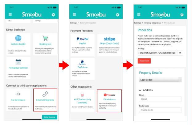 Integration with Smoobu!