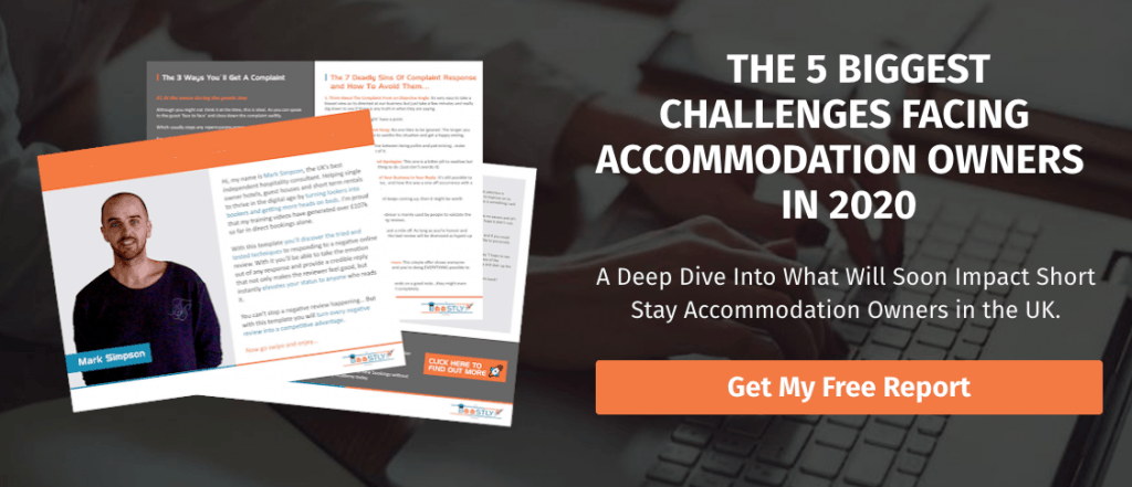 5 challenges facing accomodation owners in 2020 report